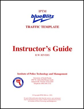 iptm instructor s guide for the blueblitz traffic template u s rh store medtechforensics com instructor guide example instructor guide template free
