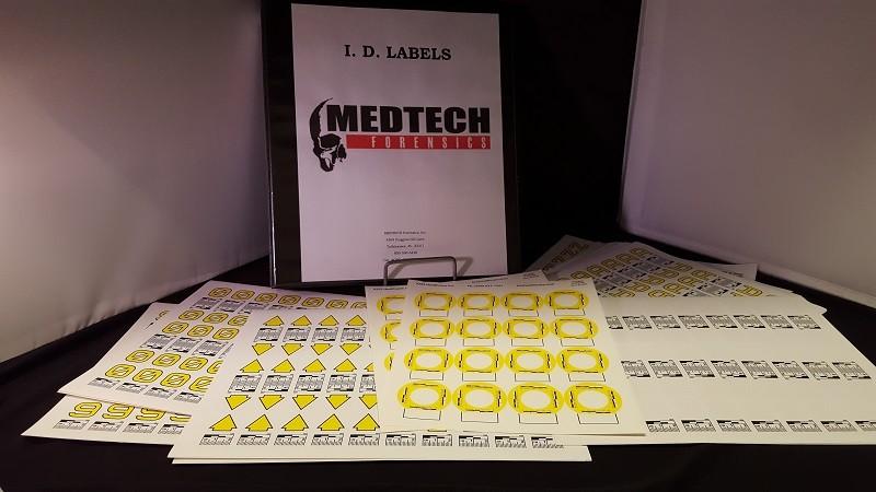 I.D. Labels Notebook