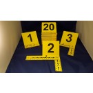 Photo Evidence Markers w/Foldable Scales