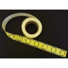 "Continuous Horizontal Tape, Fractional, Yellow, 1.5"" Wide,"