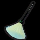 Fiber Brush with Plastic Handle