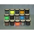Magnetic Fluorescent Latent Print Powder, Yellow, 16 oz