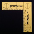 "L-Scale, Plastic, Yellow, Fractional, 3""x3"""