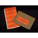 """Weapons Label, Live Ammunition, 1""""x2 5/8"""""""