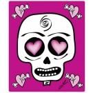 Mousepad, Pink Skull