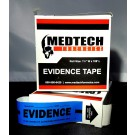 Evidence Tape, Blue, 108x1.25, 5 rolls/cs