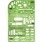 Boat Template Set, Set of 3 w/case