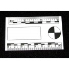 """Business Card Scale, 2""""x3"""", White, Coated"""