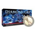Latex Gloves, Diamond Grip, PF, Medium