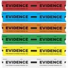 Evidence Tape, Blue, 108x1.25, 5/pk