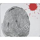 Mousepad, Fingerprint and Blood