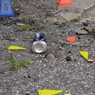 Evidence Markers, Fluorescent Orange