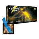 Nitrile Gloves, Lightning Storm, PF, X-Large