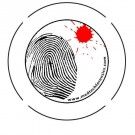 Button-Fingerprint and Blood