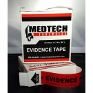 Evidence Tape, Red, 108x1.25, 5 rolls/cs