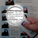 Pocket Magnifier,4X w/Light, Lens